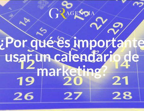 ¿Por qué es importante usar un calendario de marketing?