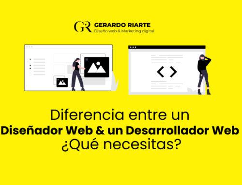 Diferencia entre un diseñador web y un desarrollador web ¿Qué necesitas?